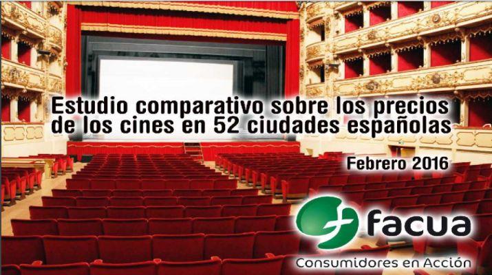 Facua y cine