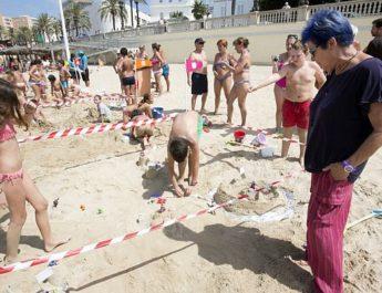Actividades infantiles de playa