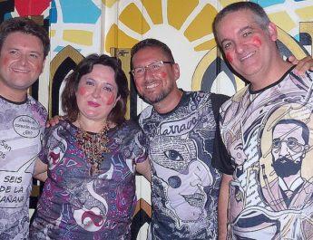 Carnaval en camisetas