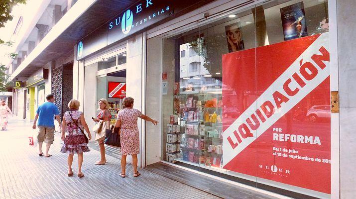 Perfumería en liquidación