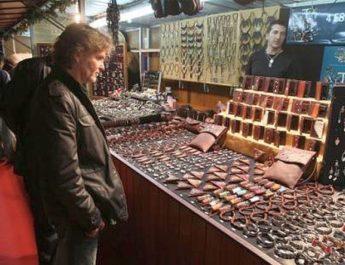 Feria de artesanía de Navidad