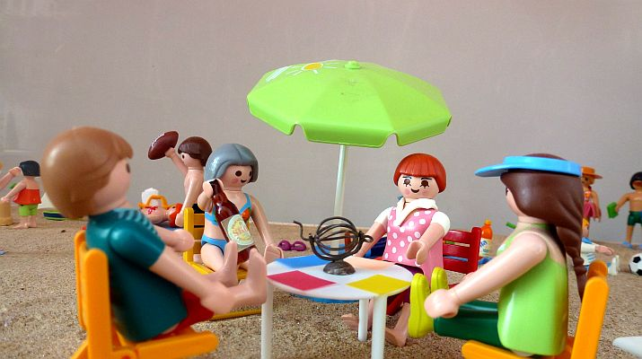 Playa de playmobil