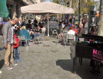 Pianos en la calle