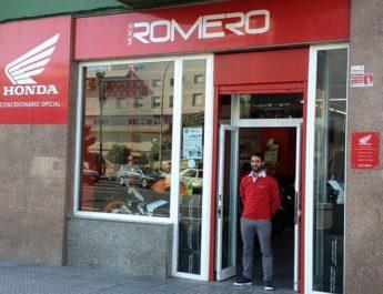 Motos Romero en Cádiz. Honda