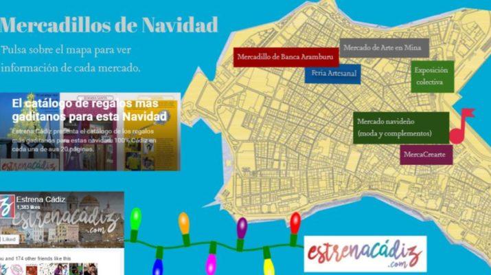 Mercados navideños de Cádiz