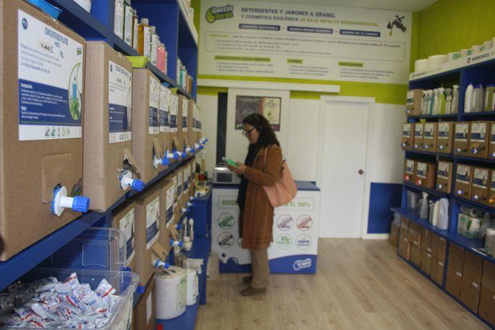 Productos de limpieza de bajo impacto ambiental a granel